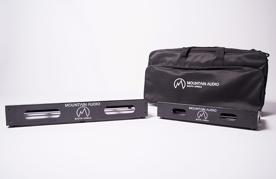 Mountain Audio pedalboards and bags